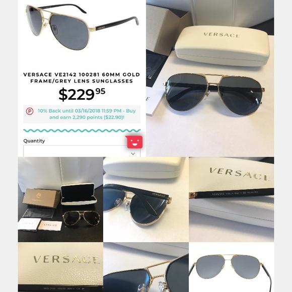 0a3776e0df1 New Versace sunglasses